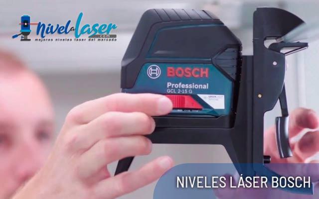 Niveles Láser Bosch